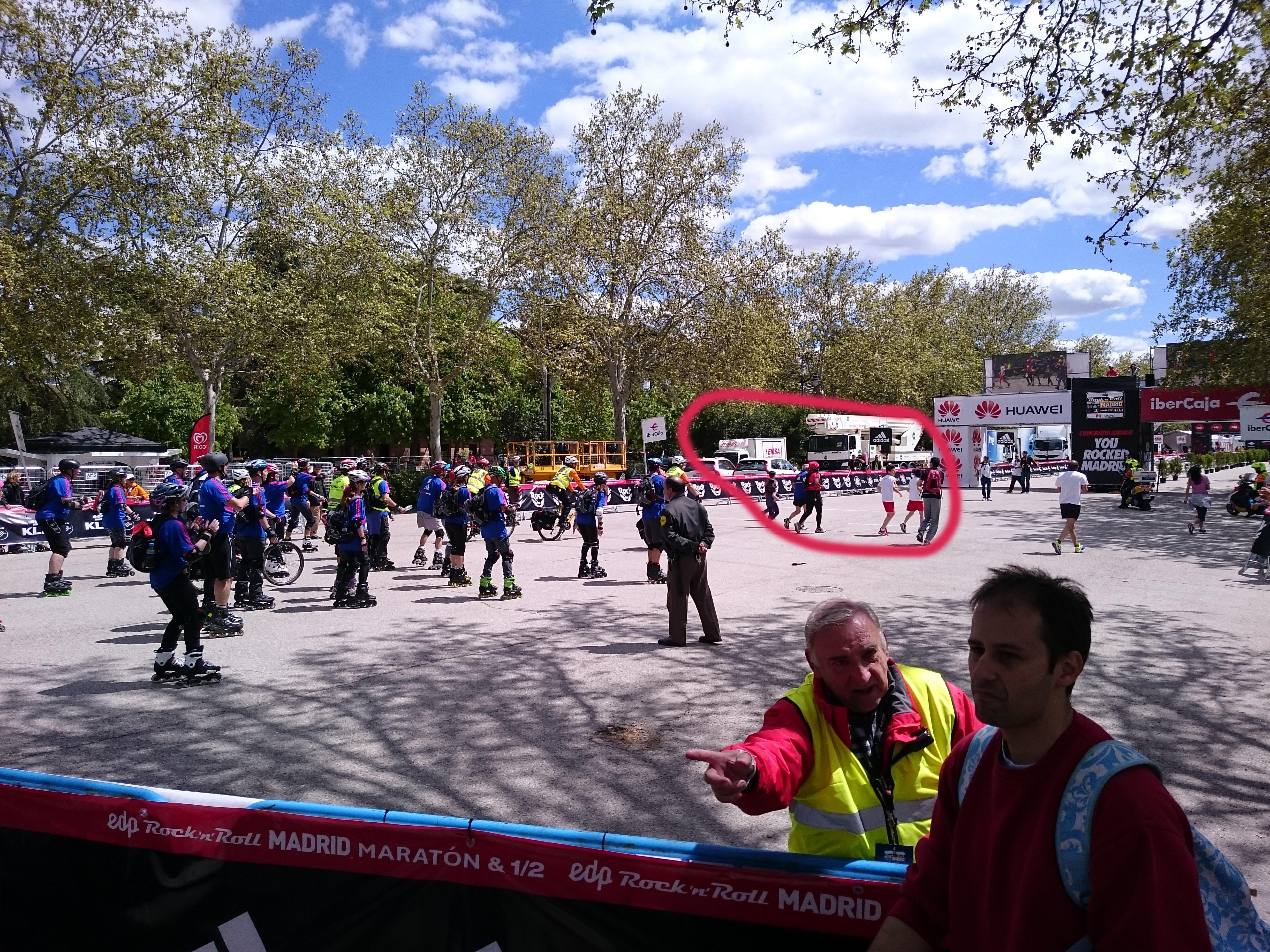закрытие трассы марафона