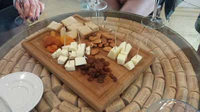После забега дегустация вин и сыров