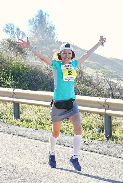 Радость, потому что Кипр, весна, марафон!