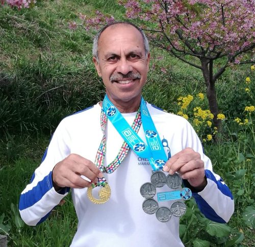 Пиюш с медалью за 6 мейджоров после марафона в Токио 2019