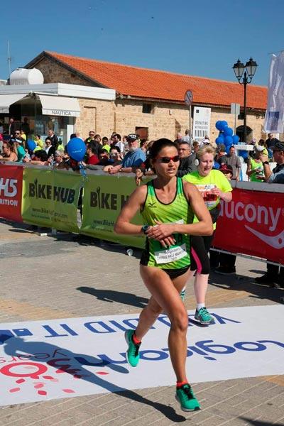 Финиш марафона Пафос