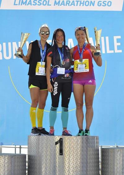Награждение марафон Лимассол